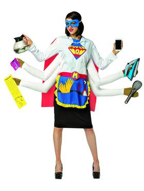 Super Mom Costume for Women