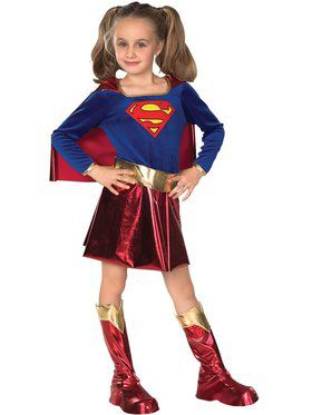 Supergirl Childrens Costume