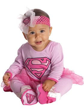 Supergirl Onesie Costume Infant