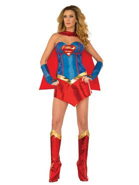Supergirl Supreme Adult Costume