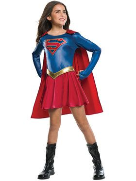 Child TV Show Supergirl Costume