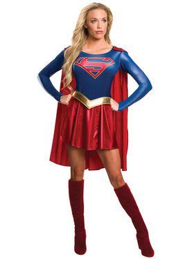 Supergirl TV Womens Costume