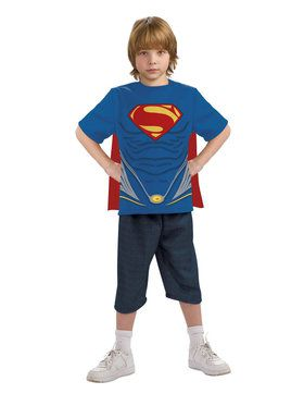 Superman Child Costume Top