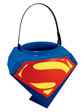 Superman Trick or Treat Pail