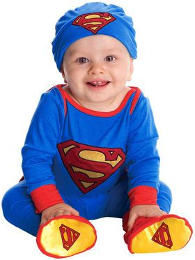 Superman Jumper Infant Costume