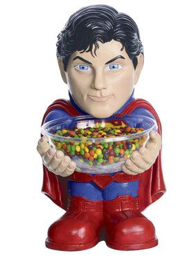 Superman Trick or Treat Holder