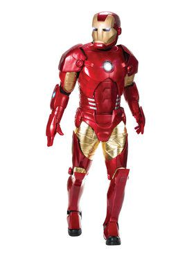 Iron Man Supreme Edition Adult Costume