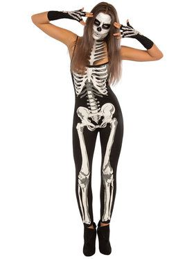 Suzy Skeleton Women's Costume