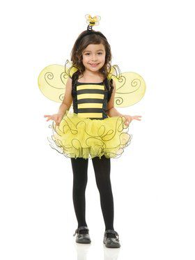 Toddler's Sweet Bee Costume