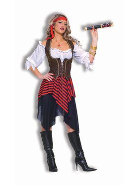 Sweet Buccaneer Pirate Adult Costume