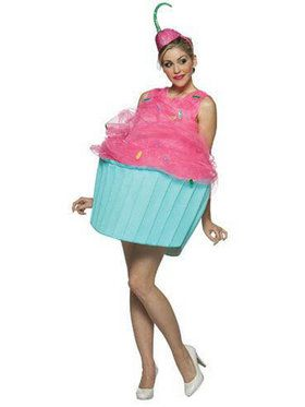 Sweet Eats Cupcake adult for Halloween
