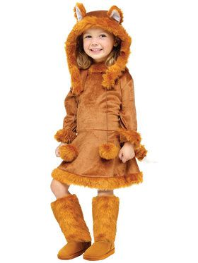 Sweet Fox Costume For Children
