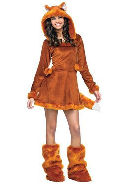 Sweet Fox Costume For Teens