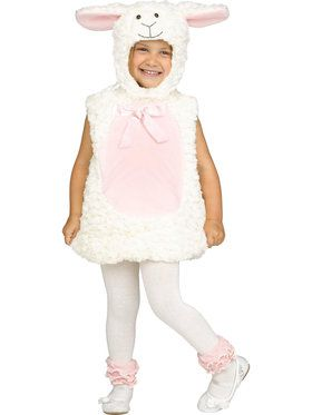 Sweet Lamb Costume For Toddlers