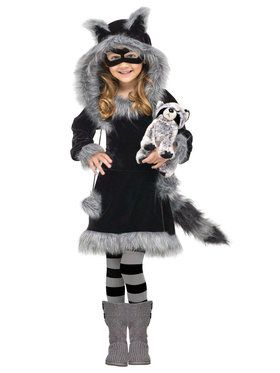Sweet Raccoon Costume For Children