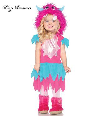 Sweetheart Monster Costume for Toddlers