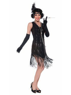 Swingin' In Sequins Adult Costume