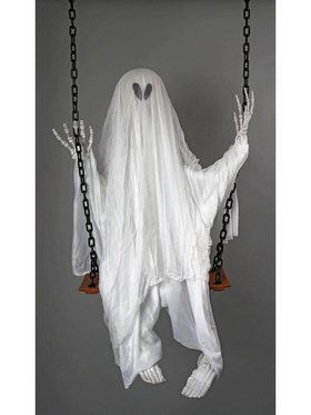 Swinging Ghost Decoration