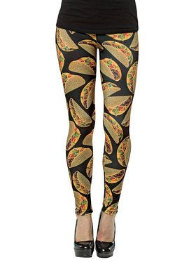 Taco Female Leggings For Adults