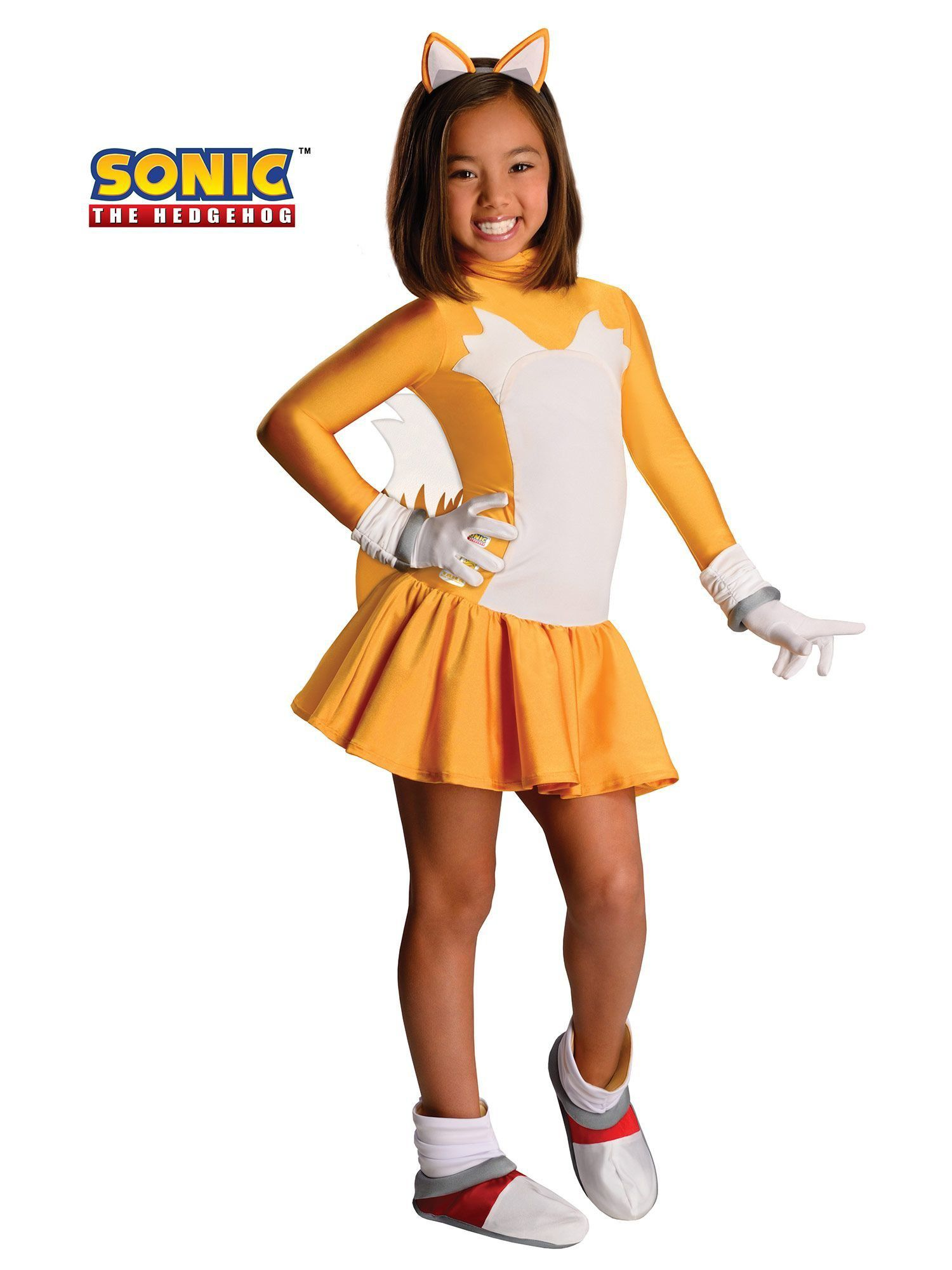 Tails Sonic Girls Costume  sc 1 st  Wholesale Halloween Costumes & Tails Sonic Girls Costume - Girls Costumes for 2018 | Wholesale ...