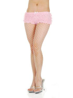 Tanga Ruffle Hot Pants (Red, Pink, Black or White)