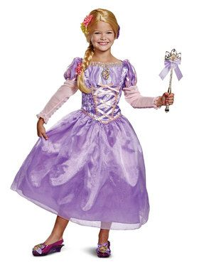 Child's Deluxe Rapunzel Costume