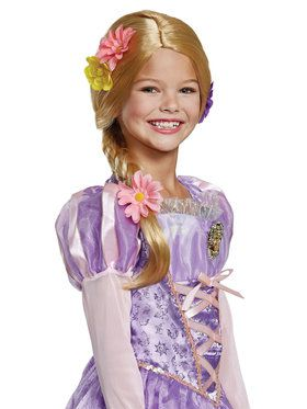 Child's Deluxe Rapunzel Wig