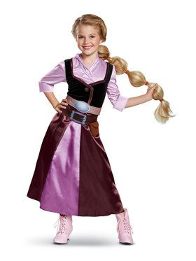 Tangled the Series Rapunzel Child Travel Costume