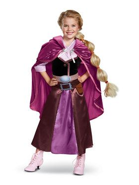 Tangled the Series Deluxe Child Rapunzel Travel Costume
