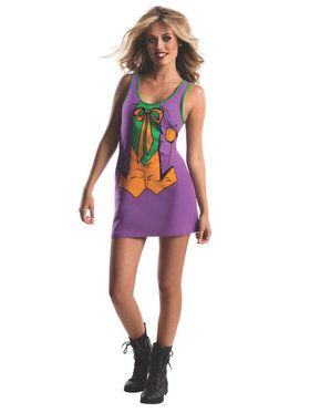 Tank Dress Teen Joker Costume