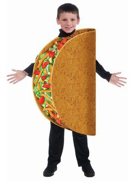 Taco Child One Size Costume