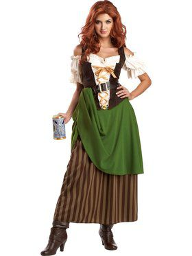 Tavern Maiden Women's Costume