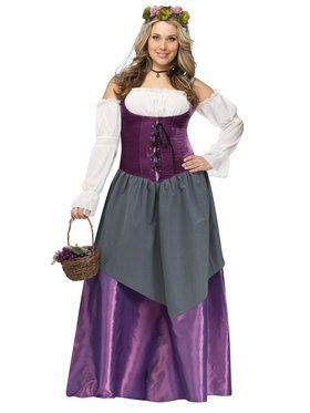 Tavern Wench Women's Plus Size Costume