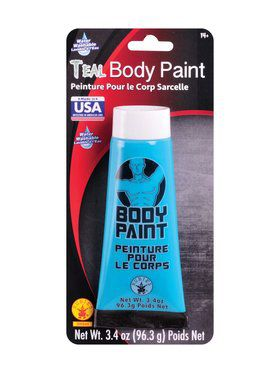 Teal Body Paint