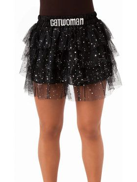 Teen Catwoman Skirt with Sequins