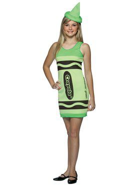 Teen Crayola Screamin Green Costume