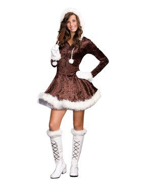Teen Eskimo Cutie Pie Costume