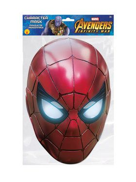 Iron Spider Character Mask Costume Accessory