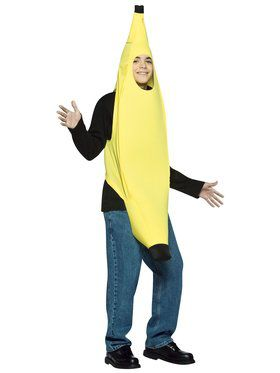Teen Light Weight Banana Costume