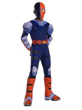 Teen Titan Go Movie Deluxe Slade Costume for Boys