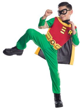 Teen Titan Robin Child Costume