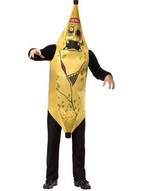 Teen Zombie Banana Costume