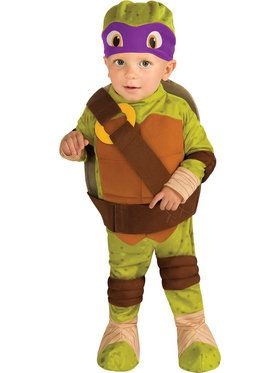 Teenage Mutant Ninja Turtle - Donatello Costume For Toddlers