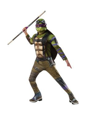 TMNT2: Donatello Deluxe Child Movie Version Costume