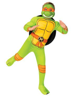 TMNT Michelangelo Classic Costume for Kids