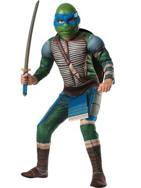 Teenage Mutant Ninja Turtle's Deluxe Leonardo Boy's Costume