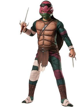 Teenage Mutant Ninja Turtle's Deluxe Raphael Boy's Costume