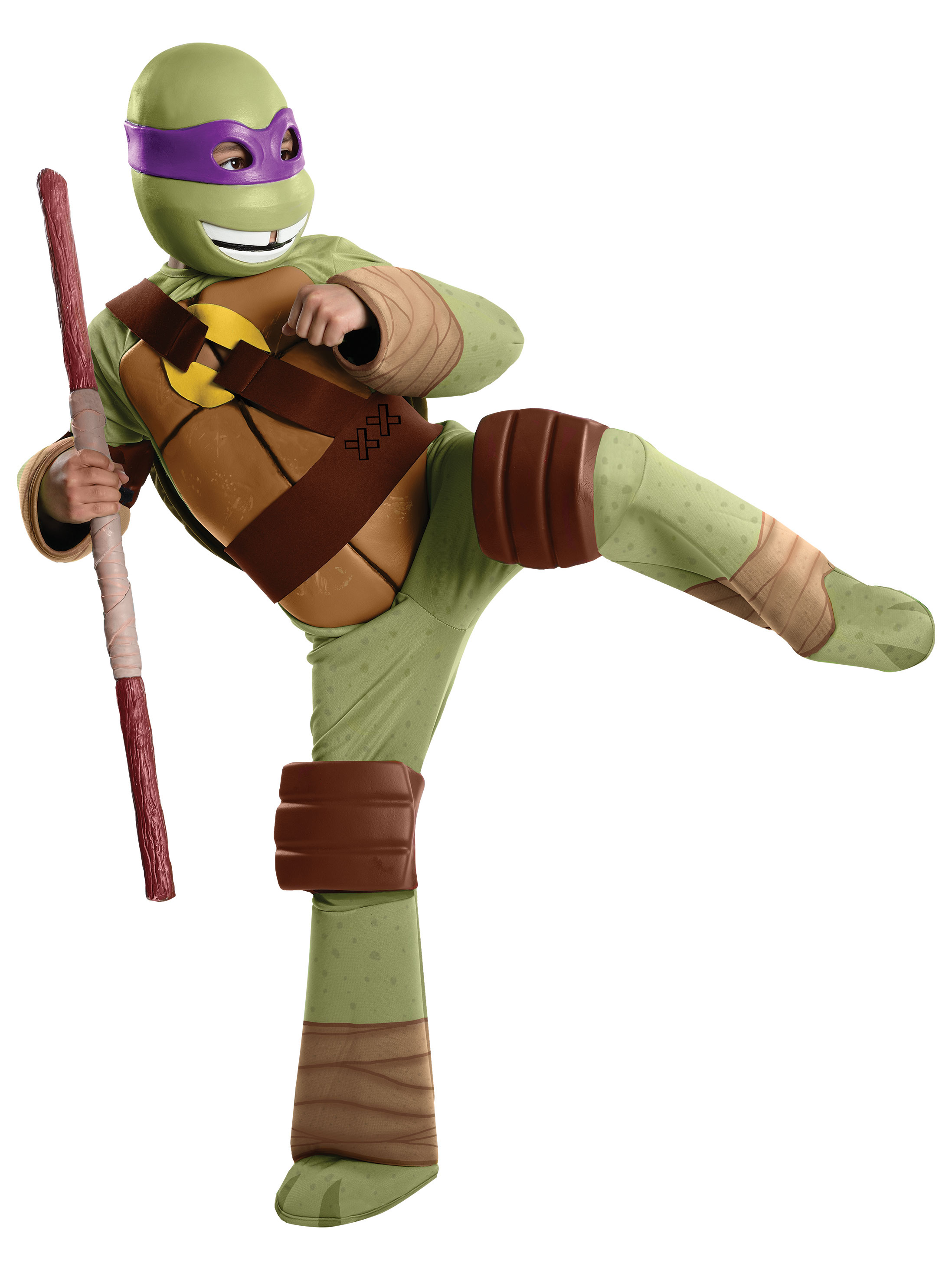 Teenage Mutant Ninja Turtles Donatello Deluxe Boys Costume 274846