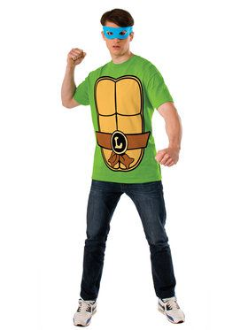 TMNT - Leonardo T-Shirt Kit Male Costume