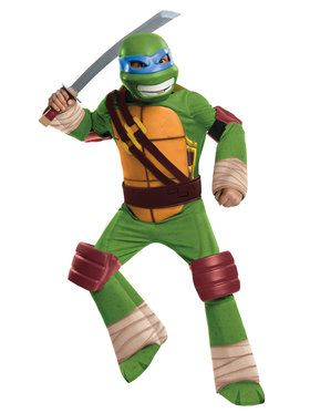 Teenage Mutant Ninja Turtles Leonardo TV for Halloween